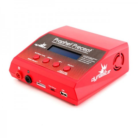 Dynamite Prophet Precept 6A 80W AC/DC Li-Ion, LiPo, LiFe, NiMH and Pb Battery Charger - DYNC2015UK