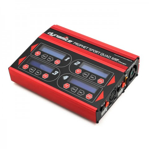 Dynamite Prophet Sport Quad 4 X 50W AC/DC LiPo, LiFe, NiMh and PB Battery Charger - DYNC2040UK