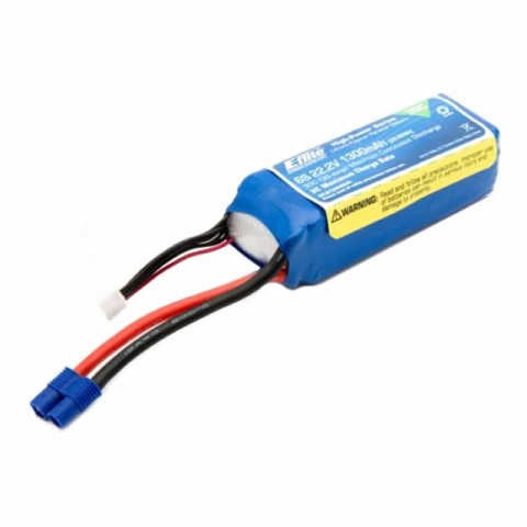 E-flite 1300mAh 6S 22.2V Flight LiPo Battery for the Blade 360 CFX - EFLB13006S30