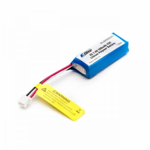 E-flite 7.4V 200mAh 25C LiPo Battery for Various UMX Models - EFLB2002S25