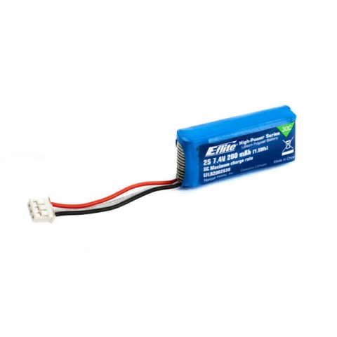E-flite 200mAh 2S 7.4V 30C LiPo Battery for the Blade mCPX BL Brushless - EFLB2002S30