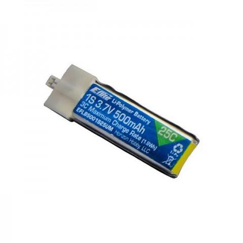 E-flite 500mAh 1S 3.7V 25C LiPo Battery High Current UMX Connector - EFLB5001S25UM