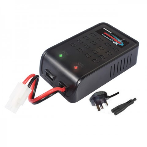Etronix Powerpal Pocket 2 NiMh and NiCd Mains Battery Charger with Tamiya Connector - ET0224