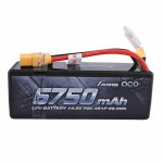 Gens Ace 6750mAh 14.8V 70C 4S1P Hardcase LiPo Battery XT-90 Connector - GC4S6750-70