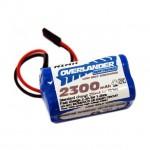 Overlander Premium Sport LSD 2300mAh AA 4.8v NiMh Receiver RX Square Battery - OL-2381