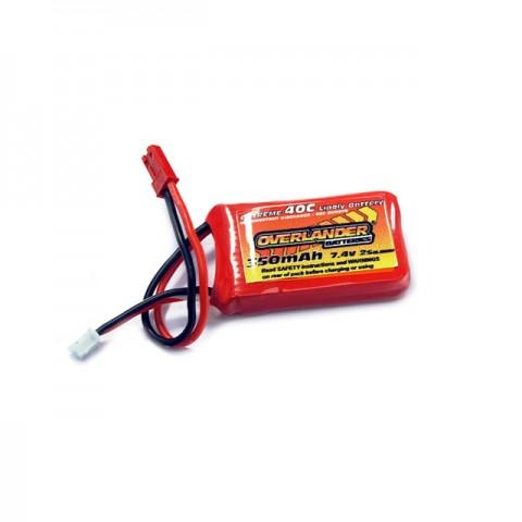 Overlander Extreme 130 X 350mAh 2S 7.4v 40C LiPo Upgrade Battery for the Blade 130X - OL-2505