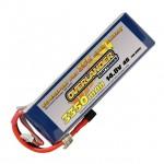Overlander Supersport Pro 3350mAh 4S 14.8v 35C LiPo Battery with Deans Connector - OL-2571