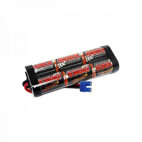 Overlander 3300mah 7.2v NiMh Battery SubC for RC Car, Boat, Bike Battery with EC3 Plug - OL-2588EC3