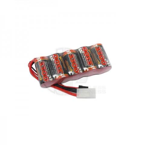 Overlander Premium Sport Flat SubC 3300mah 6V NiMh RX Battery Pack - OL-2590