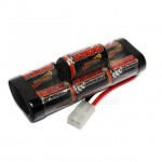 Overlander 3300mah 8.4v NiMh Battery for RC Car, Boat, Bike with Tamiya Plug - OL-2740
