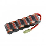 Overlander Sport 2/3 AF 1600mAh 7.2V Micro NiMh Stick Battery with Mini Tamiya Plug - OL-2778