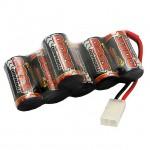Overlander 7.2V 3300mAh NiMh Battery SubC Offset Hump with Tamiya Connector - OL-2848
