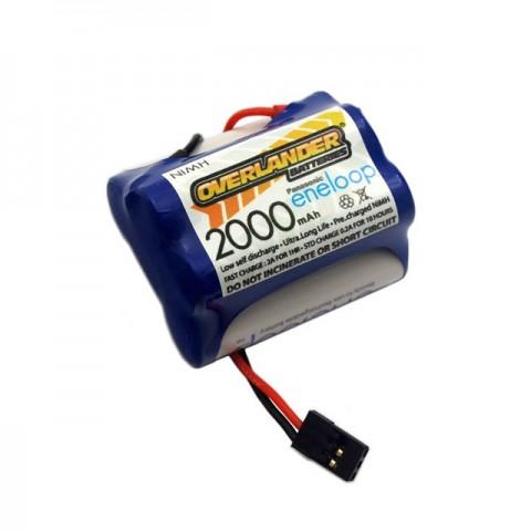 Overlander Panasonic Eneloop 2000mAh AA 6v NiMh Receiver RX Hump Battery - OL-2871