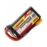 Overlander Extreme Pro 1300mAh 4S 14.8v 70C FPV LiPo Battery with XT60 Connector - OL-3071