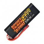 Overlander Sport Track 7.4v 2S 4200mAh LiPo 55C Battery with Deans Connector - OL-3140