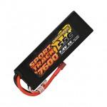 Overlander Sport Track 7.4v 2S 7600mAh LiPo 55C Battery with Deans Connector - OL-3142