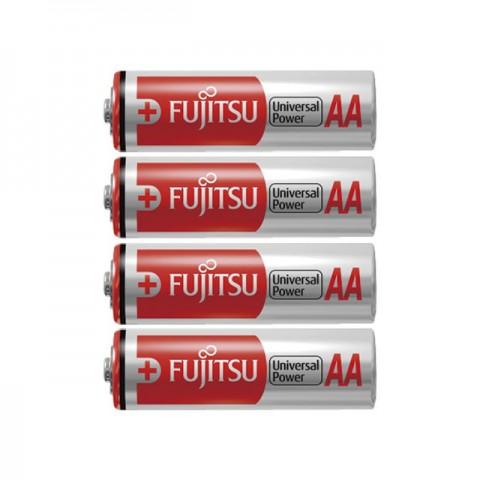 Fujitsu AA Batteries Alkaline Universal Power Premium 4 Pack (LR6) - OL-3161