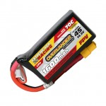 Overlander Extreme Pro 1600mAh 4S 14.8v 70C FPV LiPo Battery with XT60 Connector - OL-3197