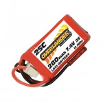 Overlander 280mAh 2S 7.4v 25C LiPo Battery for Selected E-flite UMX Models - OL-3258