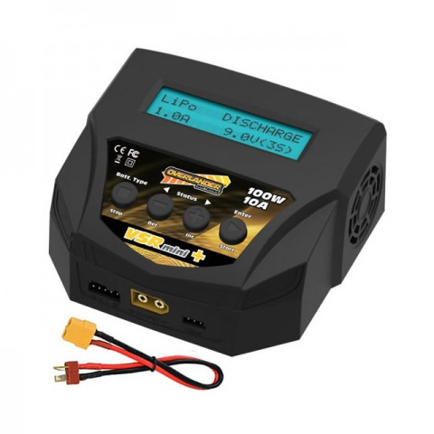 Overlander VSR Mini Plus 10A 100W AC Charger for LiPo, LiFe, LiHV, PB, NiMh and NiCd Batteries - OL-3353