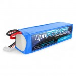 Optipower 4300mAh 22.2v 6S 30C LiPo Battery - OPR43006S