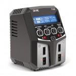 Sky RC T100 Dual AC Balance Charger/Discharger for LiPo, LiFe, LiHV, Pb and NiMh Batteries - SK-100162