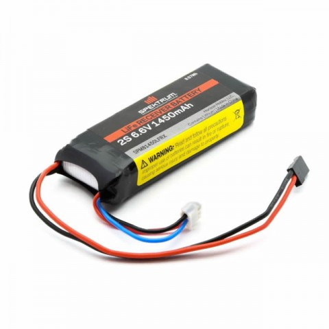 Spektrum 6.6v 1450mAh 2S LiFe Receiver Battery - SPMB1450LFRX