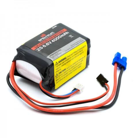 Spektrum 4000mAh 2S 6.6V LiFe Receiver Battery - SPMB4000LFRX