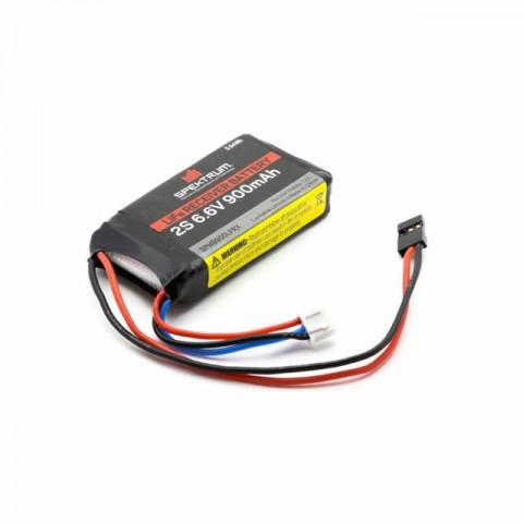 Spektrum 6.6V 900mAh 2S LiFe Receiver Battery - SPMB900LFRX