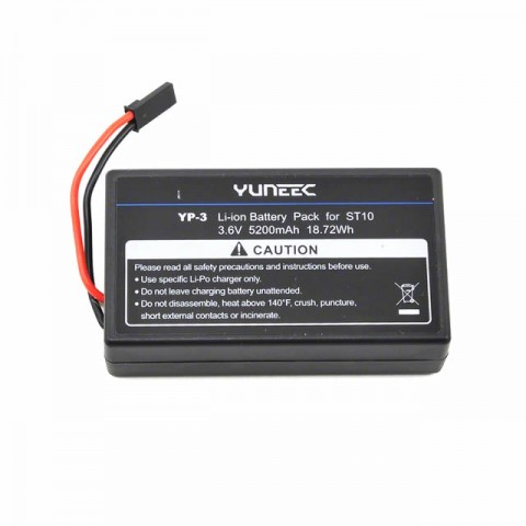 Yuneec Li-Ion 3.6V 5200mAh Battery Pack for ST10 Transmitter - YUNST10100