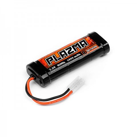 HPI Plazma 7.2v 1800mAh NiMh Stick Pack Re-Chargeable Battery with Tamiya Plug - 101930