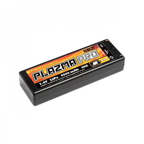 HPI Plazma Pro 7.4v 6500mAh 95C LiPo Battery Pack with 4mm Tubes - 106399