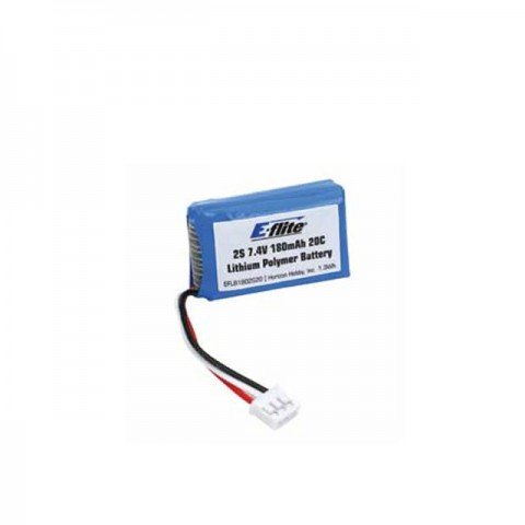 E-flite 7.4V 180mAh 20C LiPo Battery for Various UMX Models - EFLB1802S20