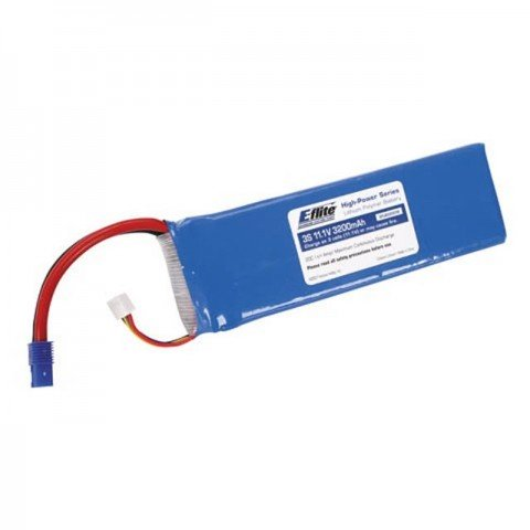 E-flite 11.1V 3200mAh 3S 20C LiPo Battery Pack with EC3 Connector - EFLB32003S