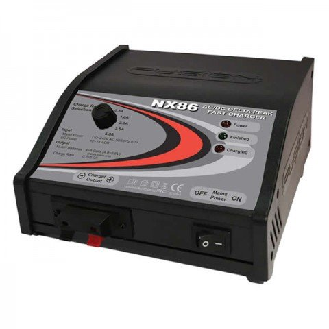 Fusion NX86 AC/DC NiMh and Ni-Cd Fast Charger - FS-NX86