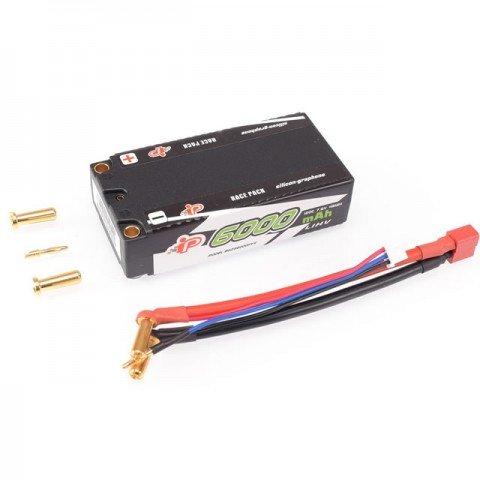 Intellect Silicon-Graphene 2S 7.6v 6000mAh 120C LiHV Shorty Battery Pack - IPBG2S6000HV4