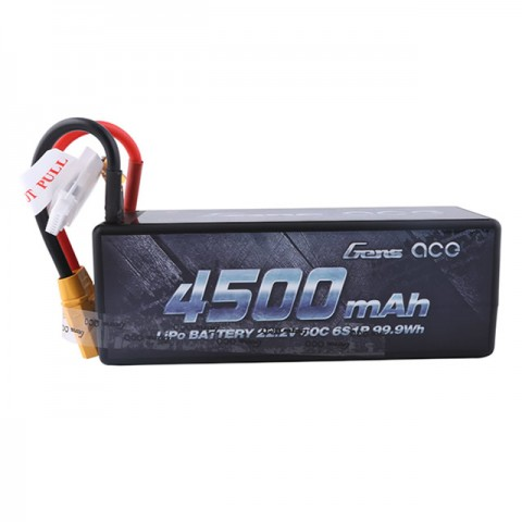 Gens Ace 4500mAh 22.2V 60C 6S1P Hardcase LiPo Battery XT-90 Connector - GC6S4500-60
