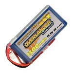 Overlander 1300mAh 11.1v 3S 35C Supersport Pro LiPo Battery with Deans Connector - OL-2563