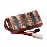 Overlander 3300mah 4.8v SubC NiMh Battery with Tamiya Plug - OL-2589