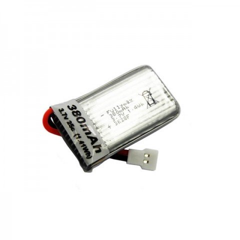 Overlander 3.7V 380mAh LiPo Battery for the Hubsan X4C and FPV Micro Camera Quad Copter - OL-2651