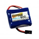 Overlander Panasonic Eneloop 800mAh AAA 4.8v Flat RX Receiver Battery - OL-2822