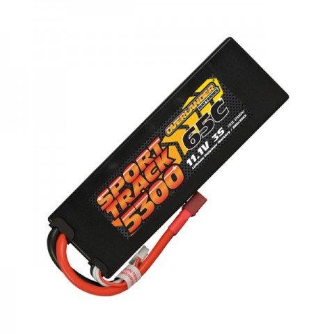 Overlander Sport Track 5300mAh 3S 11.1v 65C LiPo Battery in Hard Case with Deans Connector - OL-3143