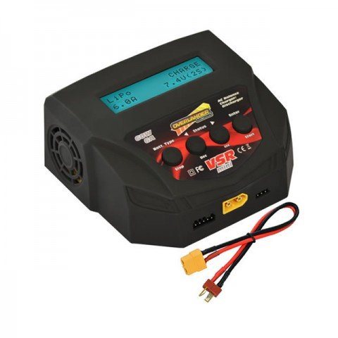 Overlander VSR-Mini 6A 60W 2S-4S LiPo, LiFe, LiIon, LiHV and NiMh AC Battery Charger - OL-3249