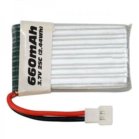 Overlander Sport 660mAh 1S 3.7v 25C LiPo Battery - OL-3432