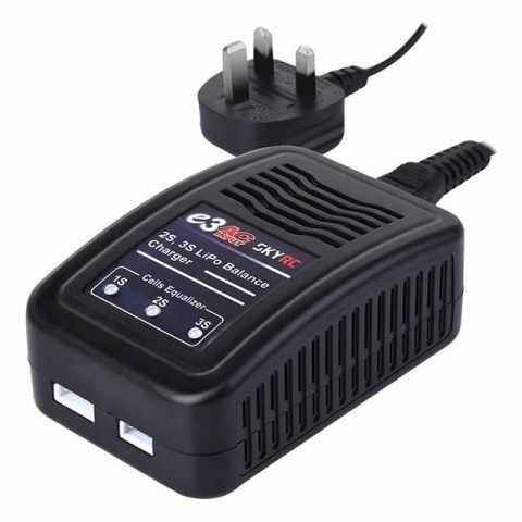 Sky RC e3 LiPo Battery Charger AC 1.2A 11W for 2-3S Batteries - SK-100081