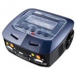 Sky RC D100 V2 AC/DC Dual Balance Charger/Discharger for LiPo, LiFe, LiHV and NiMh Batteries - SK-100131