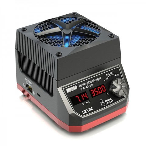 Sky RC BD250 250w LiPo, LiFe, NiMh and Pb Battery Discharger and Analyser - SK-600133