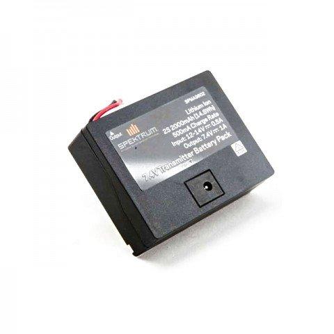 Spektrum 2000mAh 2S 7.4V Li-Ion Transmitter Battery Pack for DX6 - SPMA9602