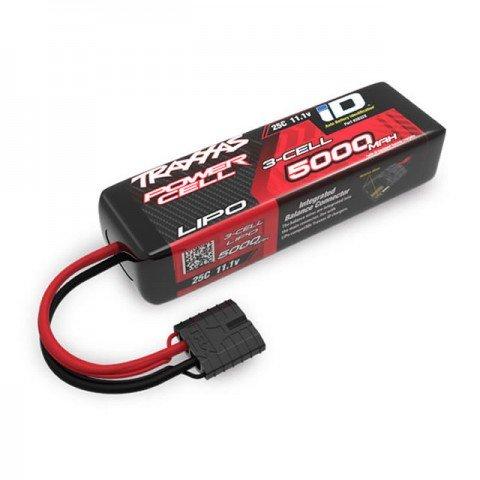 Traxxas Shorty 5000mAh 11.1V 3S 25C LiPo Battery ID Connector (135x29x44mm) - TRX2832X