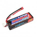 Voltz 5000mAh 2S 7.4v 50C Hard Case LiPo Stick Battery Pack with Deans Connector - VZ0317